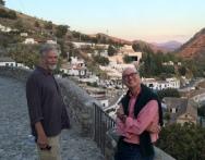 Andy und Don treffen sich in Granada, Spanien